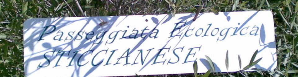 cartellone passeggiata ecologica