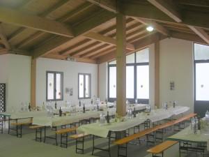 sala struttura polivalente